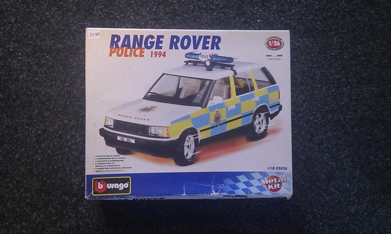 Range Rover Police 1994