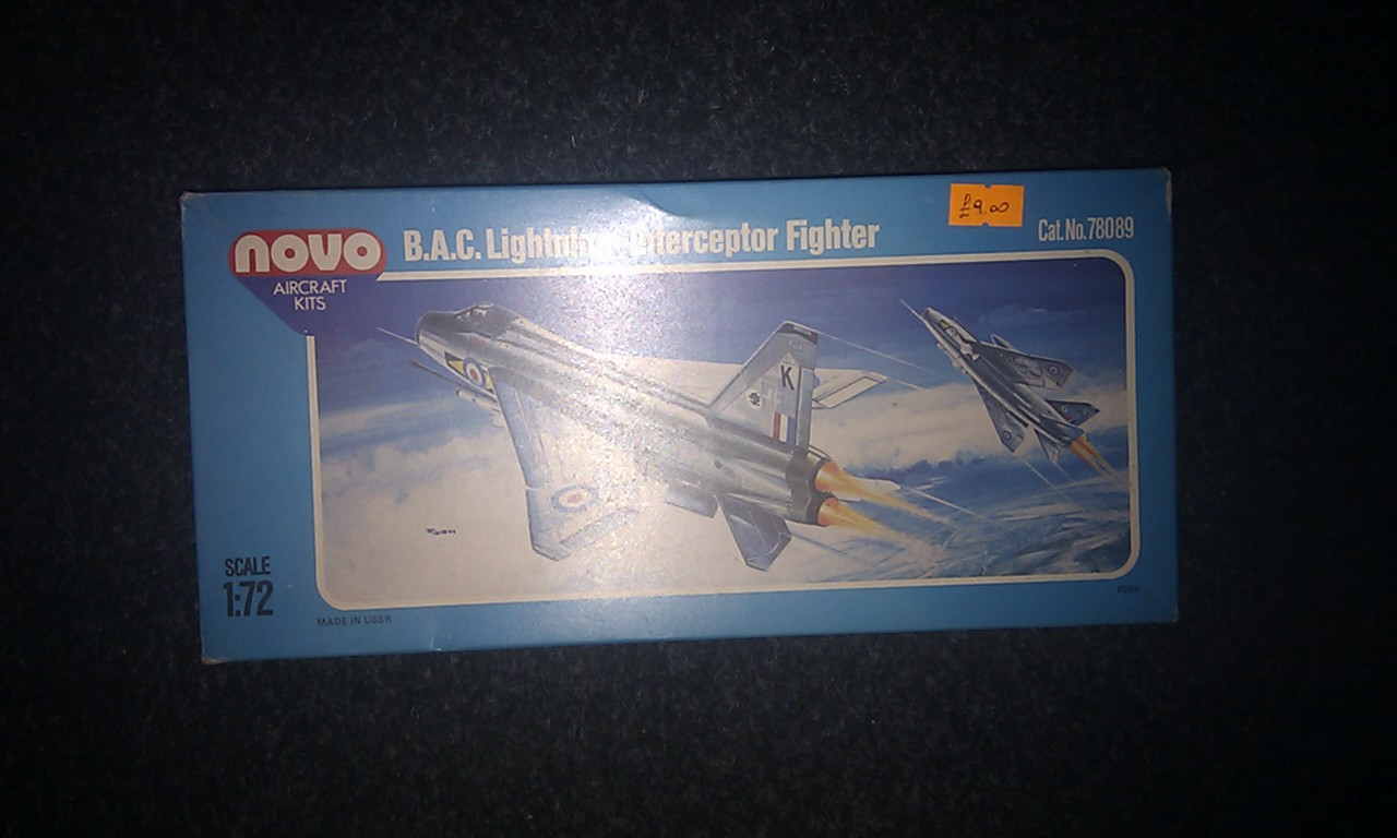 B.A.C. Lightning Interceptor Fighter
