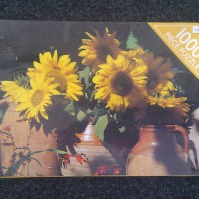 Sunflower, 1000 piece puzzle