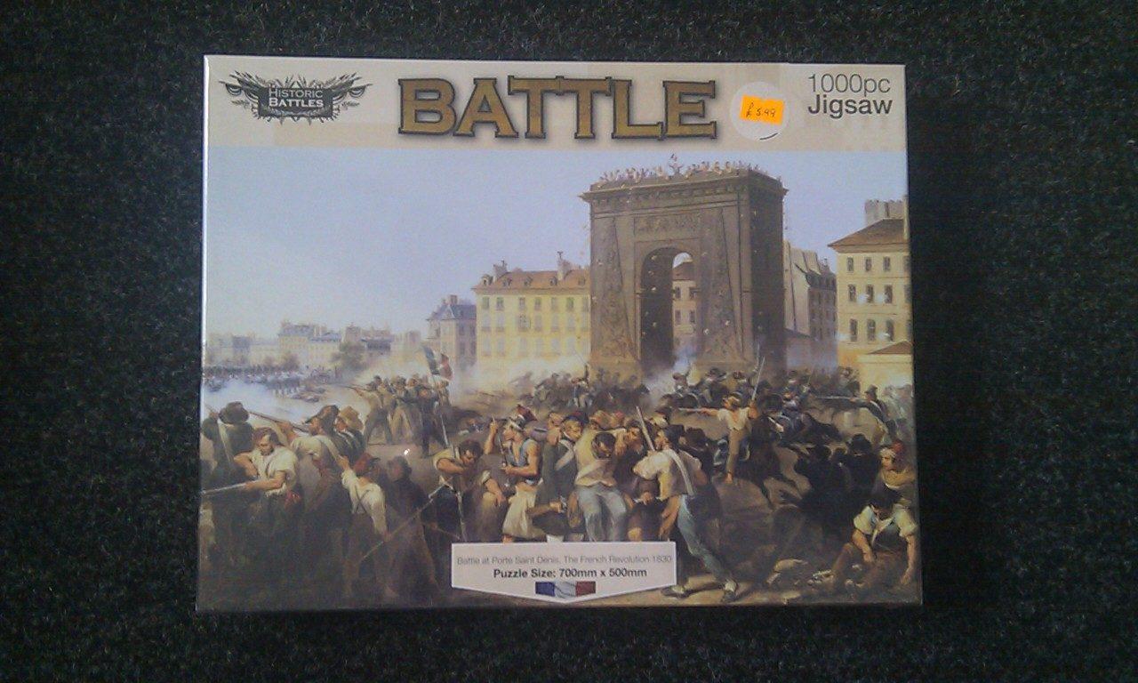 Battle at Porte Saint Denis, French Revolution 1830