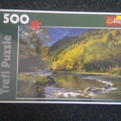 Forest River 500 Piece Puzzle