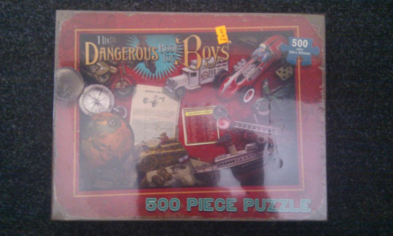 Dangerous Book for Boys puzzle