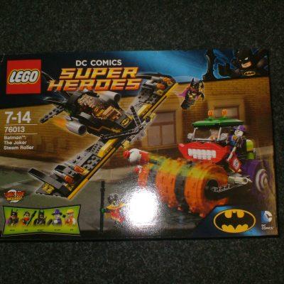 Lego DC Super Heroes 76013 Batman The Joker Steam Roller