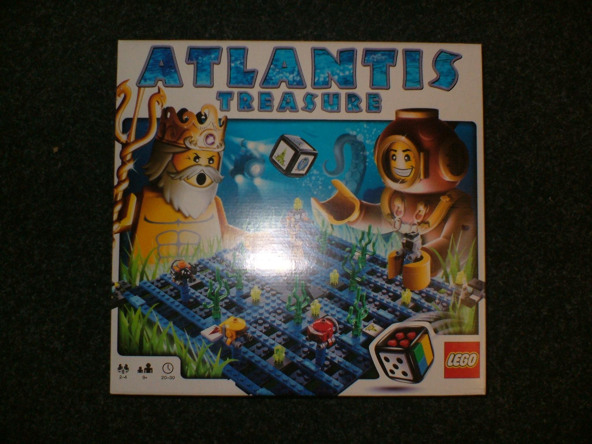 Lego 3851 Atlantis Treasure Board Game