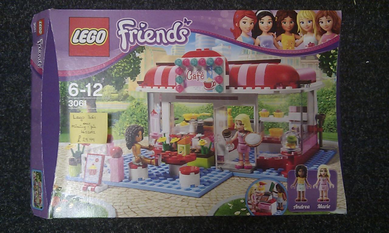 Lego Friends 3061 City Park Café Curios And Wonders
