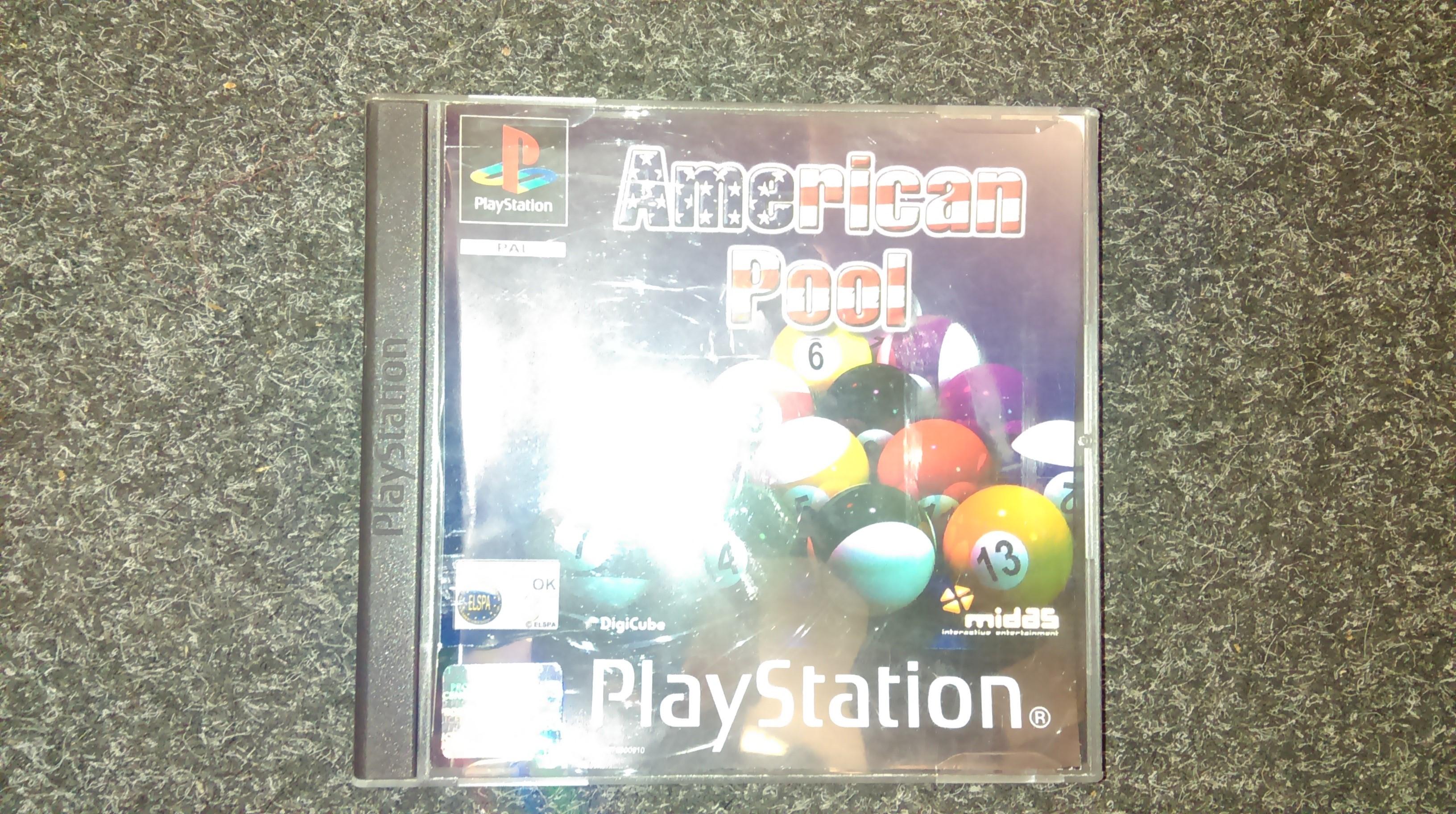 PS1 American Pool