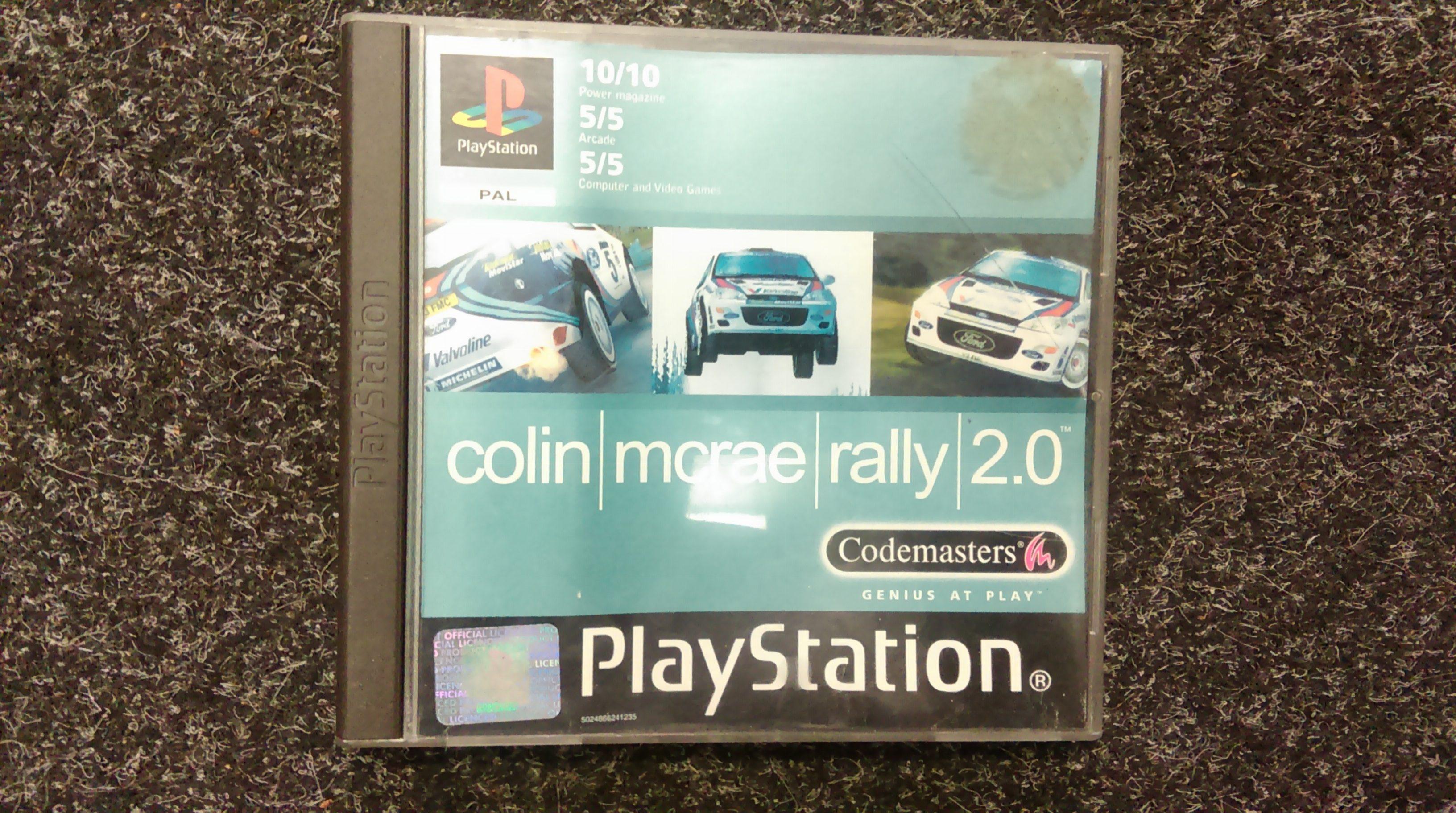PS1 Colin McRae Rally 2.0
