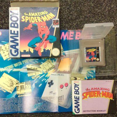 Game Boy The Amazing Spider-man
