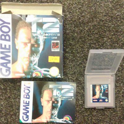 Game Boy T2 Terminator 2 Judgement Day