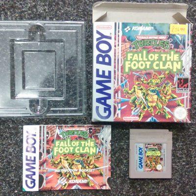 Game Boy Teenage Mutant Ninja Turtles Fall of the Foot Clan