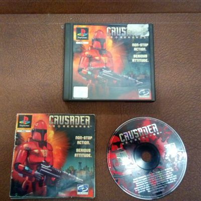 PS1 Crusader No Remorse