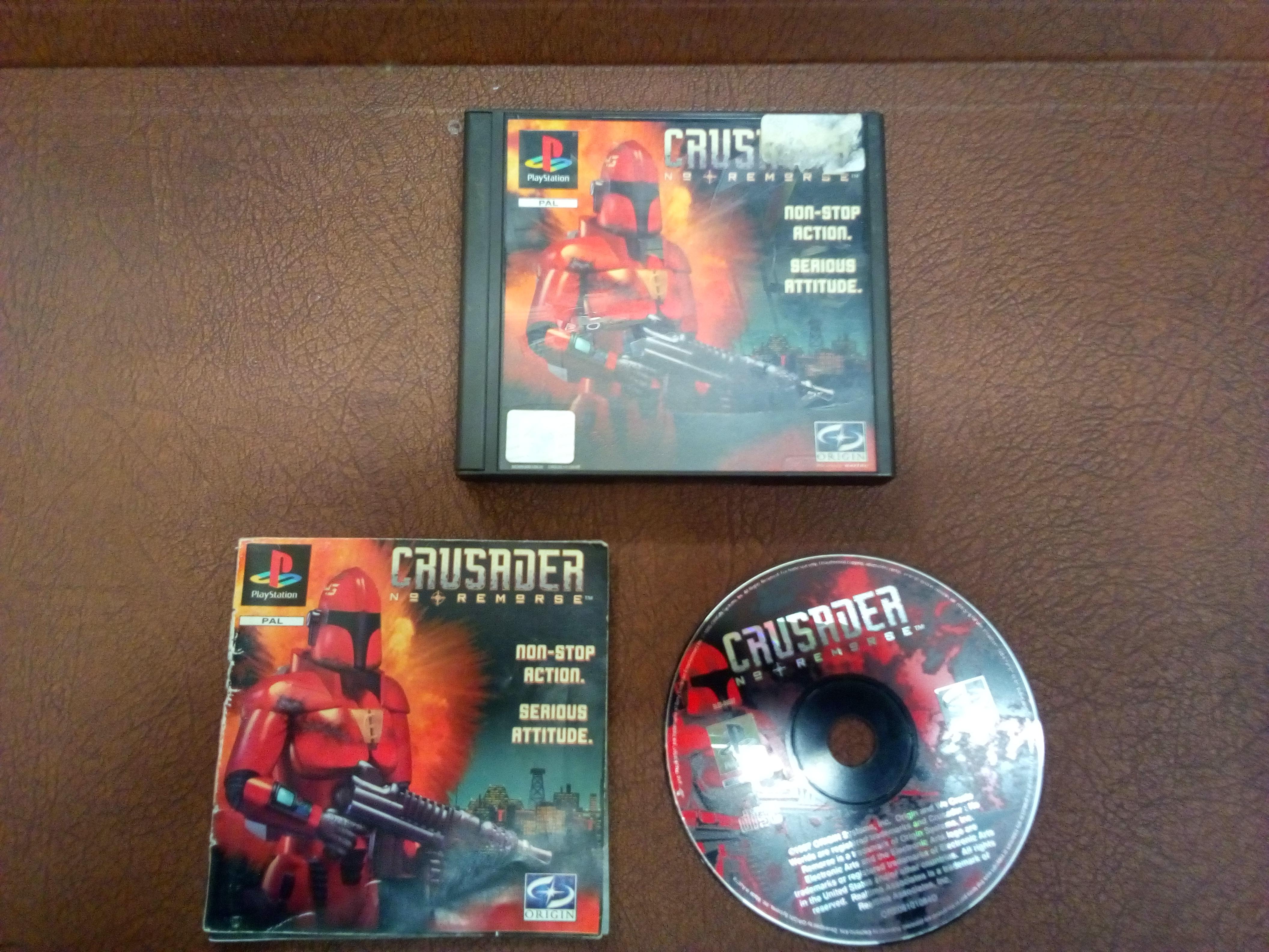 PS1 Crusader No Remorse