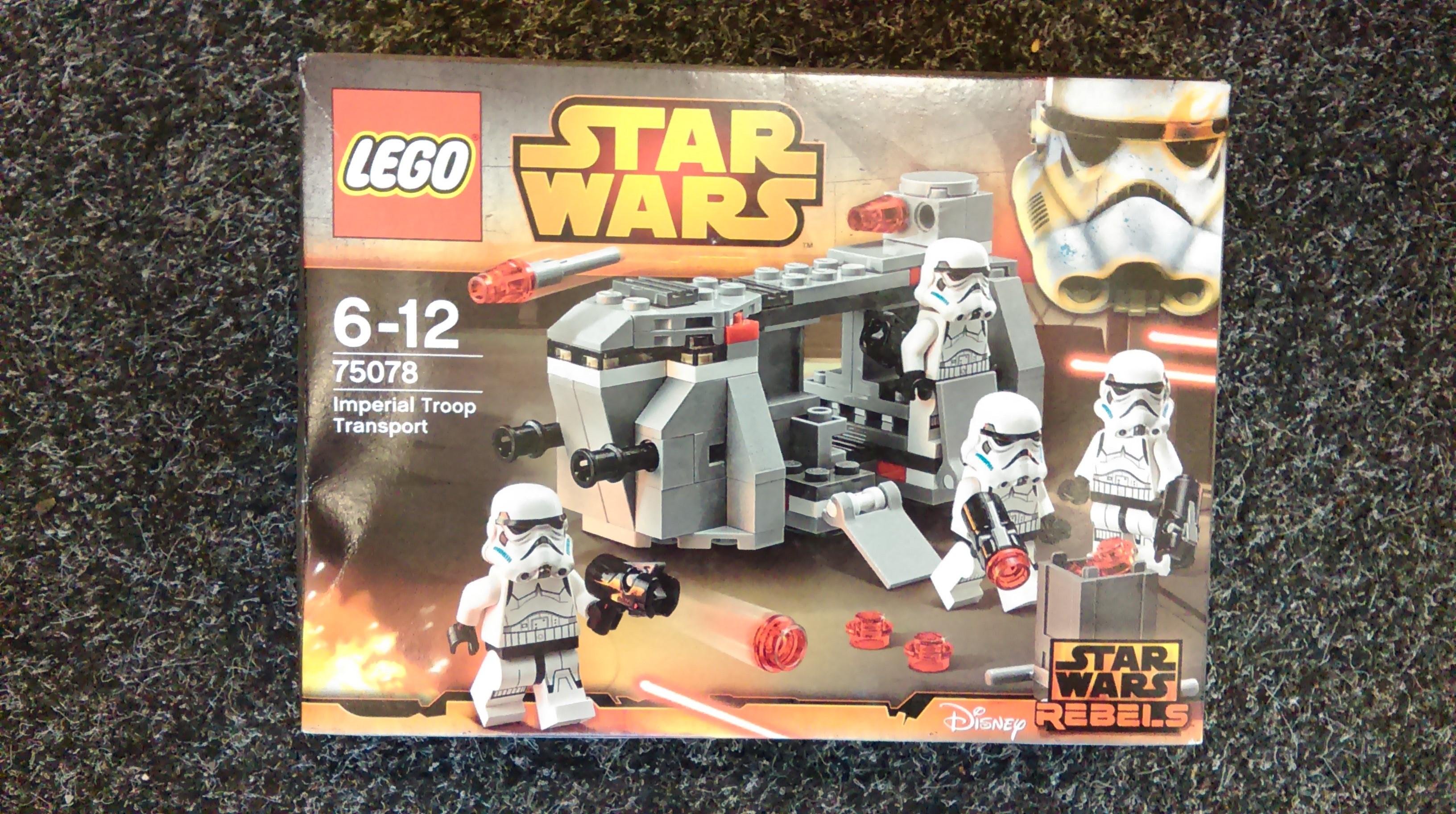 LEGO Star Wars 75078 Imperial Troop Transport