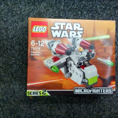 LEGO Star Wars 75076 Republic Gunship