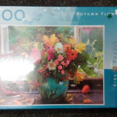 Autumn Flowers 2 - 1000 Pieces Puzzle