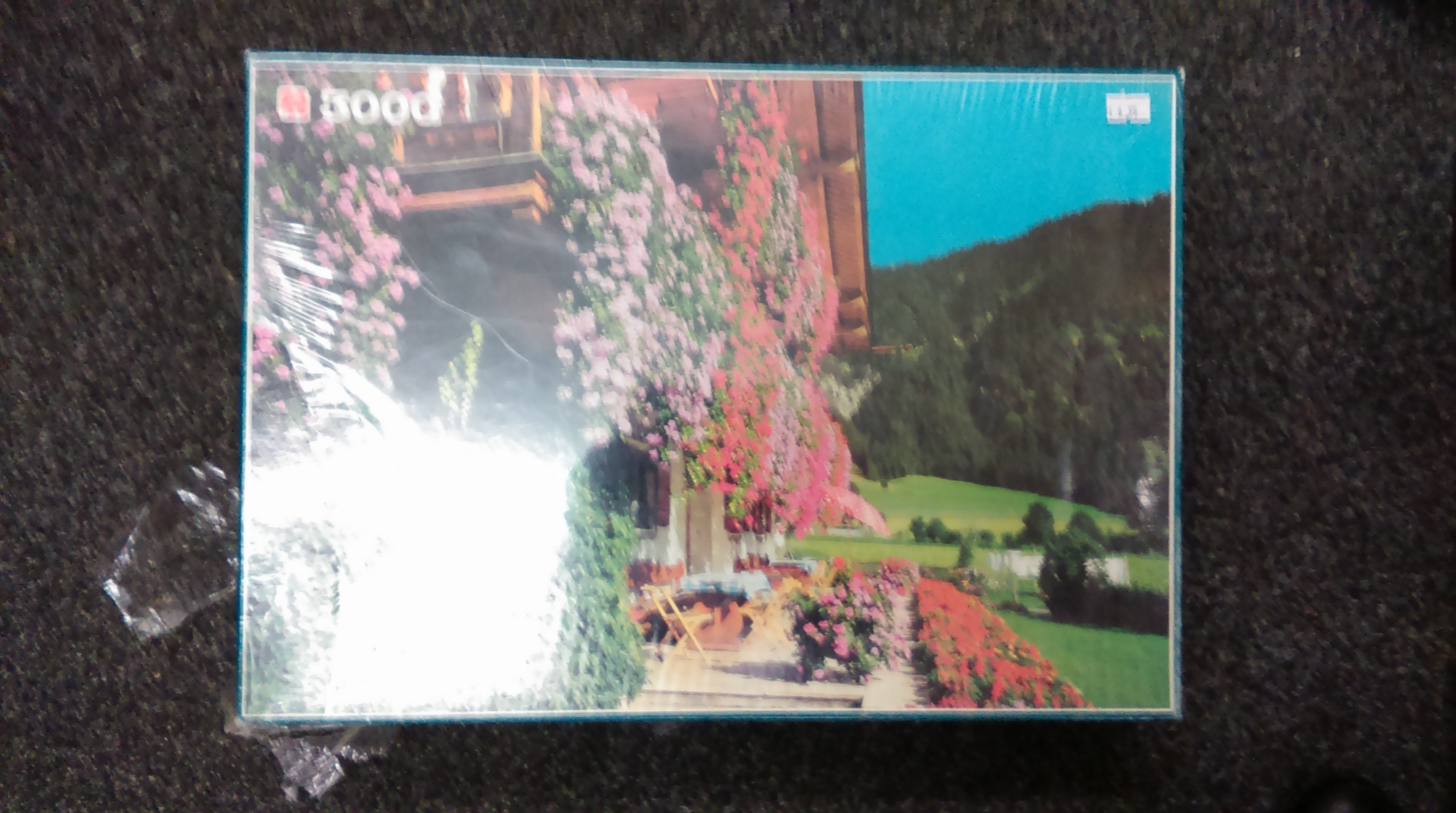 Beauty Of The Alps 3000 Pieces Puzzle