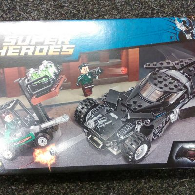 LEGO 76045 Marvel Super Heroes Kryptonite Interception Superhero Toy