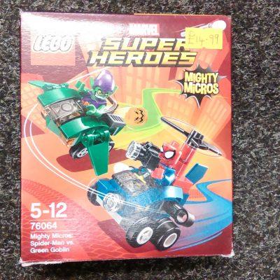 Lego 76064 Spider Man Vs Green Goblin