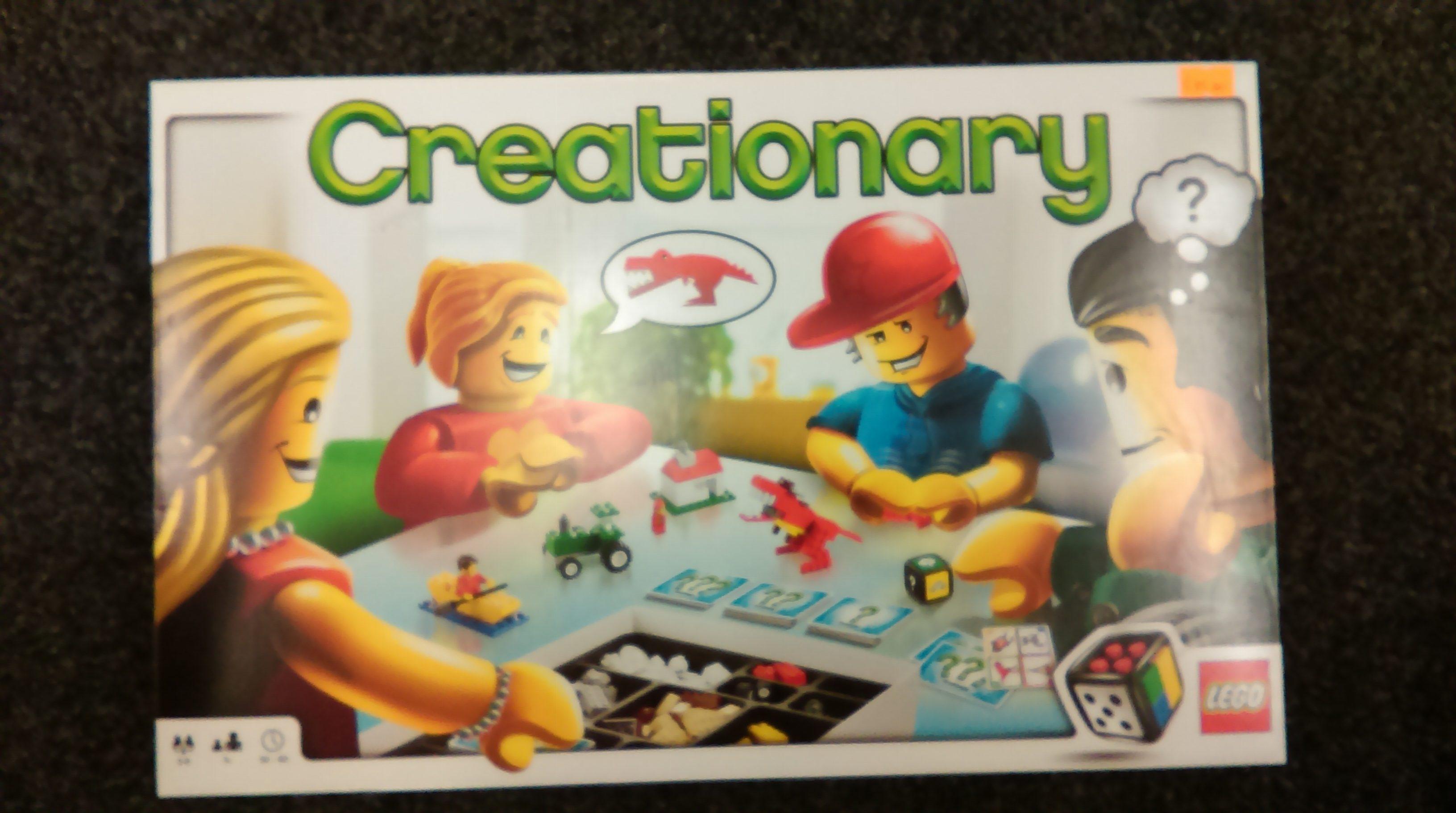 Lego 3844 Creationary Curios And Wonders