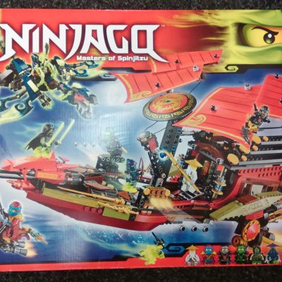 70738 Lego Final Flight Of Destiny'S Bounty Ninjago