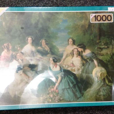 Empress Eugenie & Ladies In Waiting 1000 Pieces Puzzle