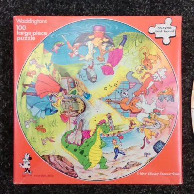 Walt Disney 100 Pieces Round Puzzle