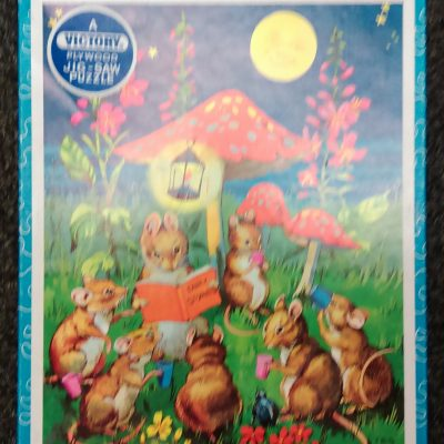 Victory Wooden Puzzle 42 Pieces Fairy Stories