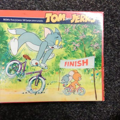 Tom And Jerry 180 Pieces Puzzle