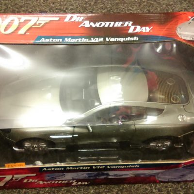 Aston Martin V12 Vanquish 007 Die Another Day Joyride