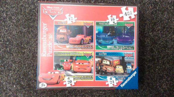 Disneys Cars 4 puzzle box set