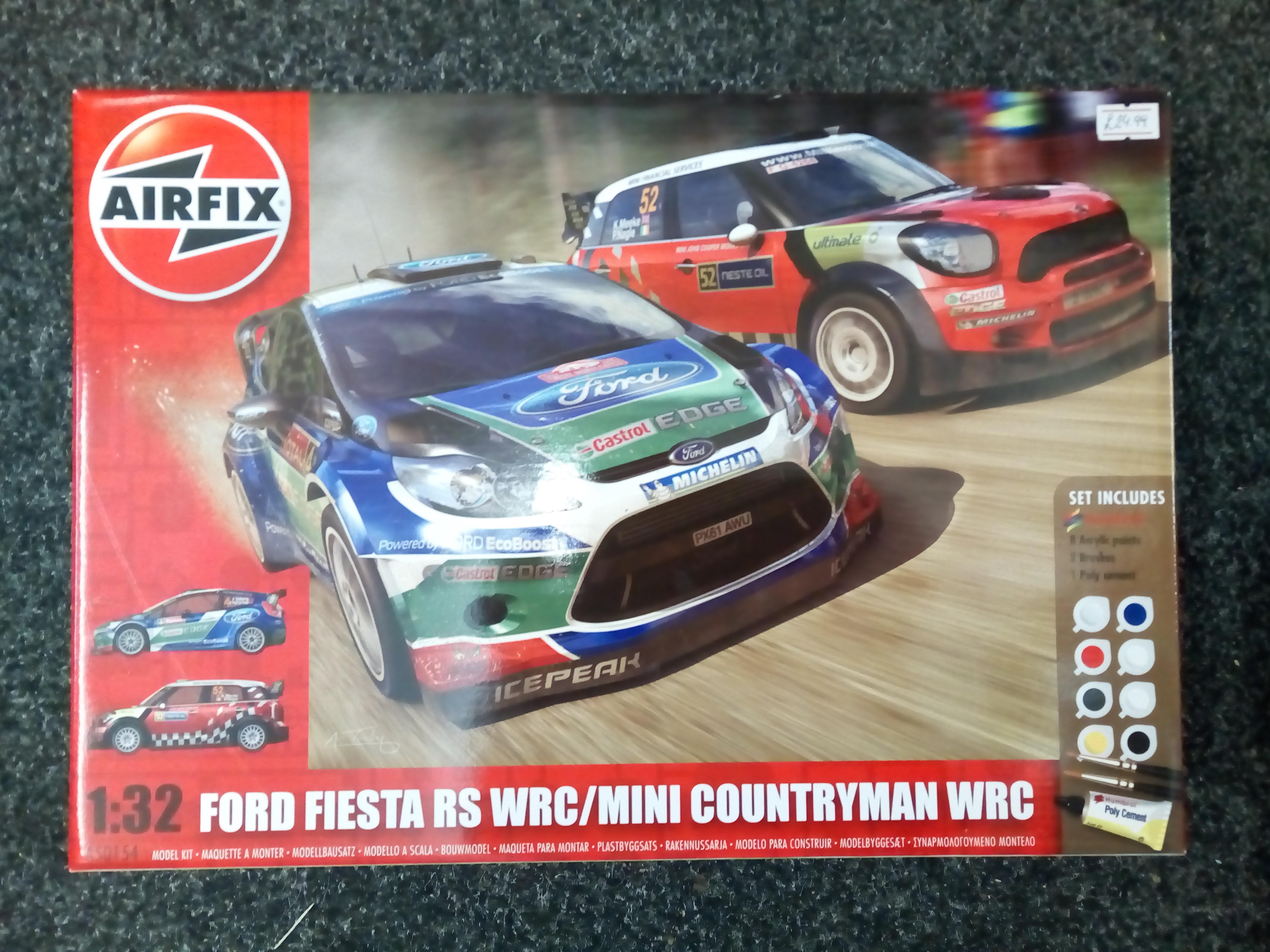 Ford Fiesta RS WRC - Mini Countryman WRC