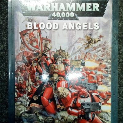 Warhammer 40K Blood Angels 5th Edition Codex