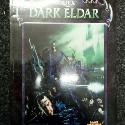 Warhammer 40k Dark Eldar 3rd Edition Codex