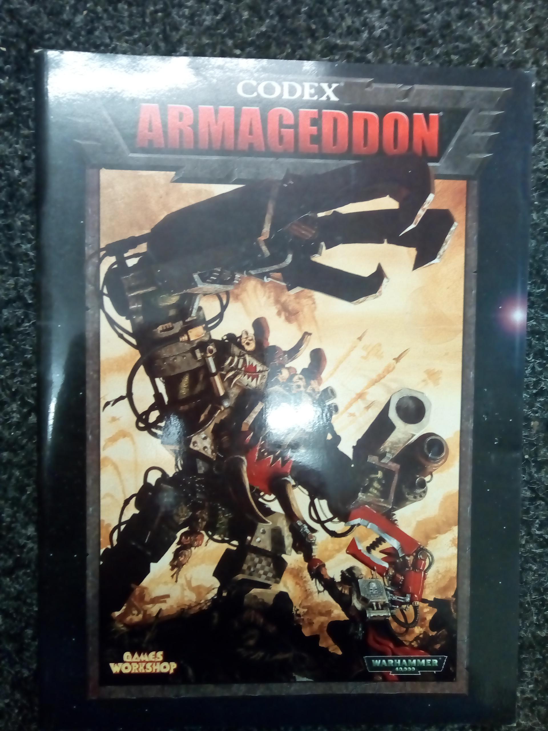 Warhammer 40K 3rd Edition Armageddon Codex