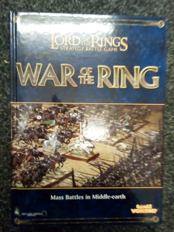 Lord of the Ring Strategy Battle Game War of the Ring
