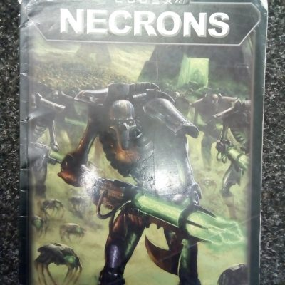 Warhammer 40,000 3rd Edition Necron Codex