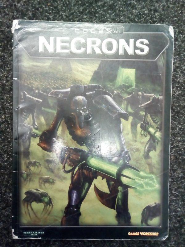 Warhammer 40,000 3rd Edition Necron Codex