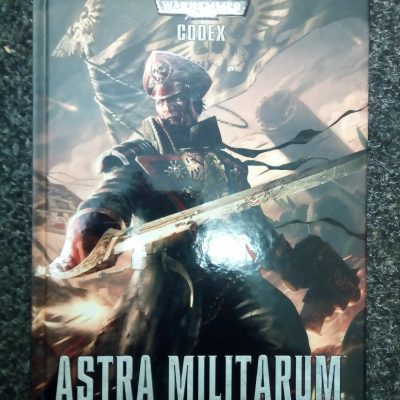 Warhammer 40,000 7th Edition Astra Militarum Codex