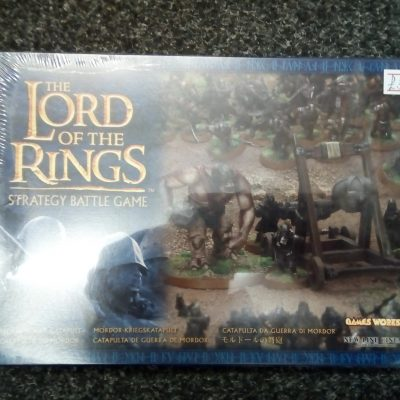 Lord of the Rings Strategy Battle Game Mordor War Catapult