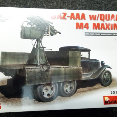 GAZ-AAA with Quad M4 Maxim