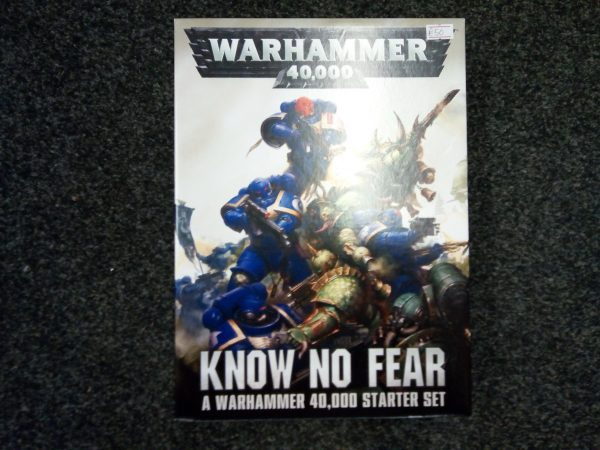 Warhammer 40K: Know no Fear Starter Set.
