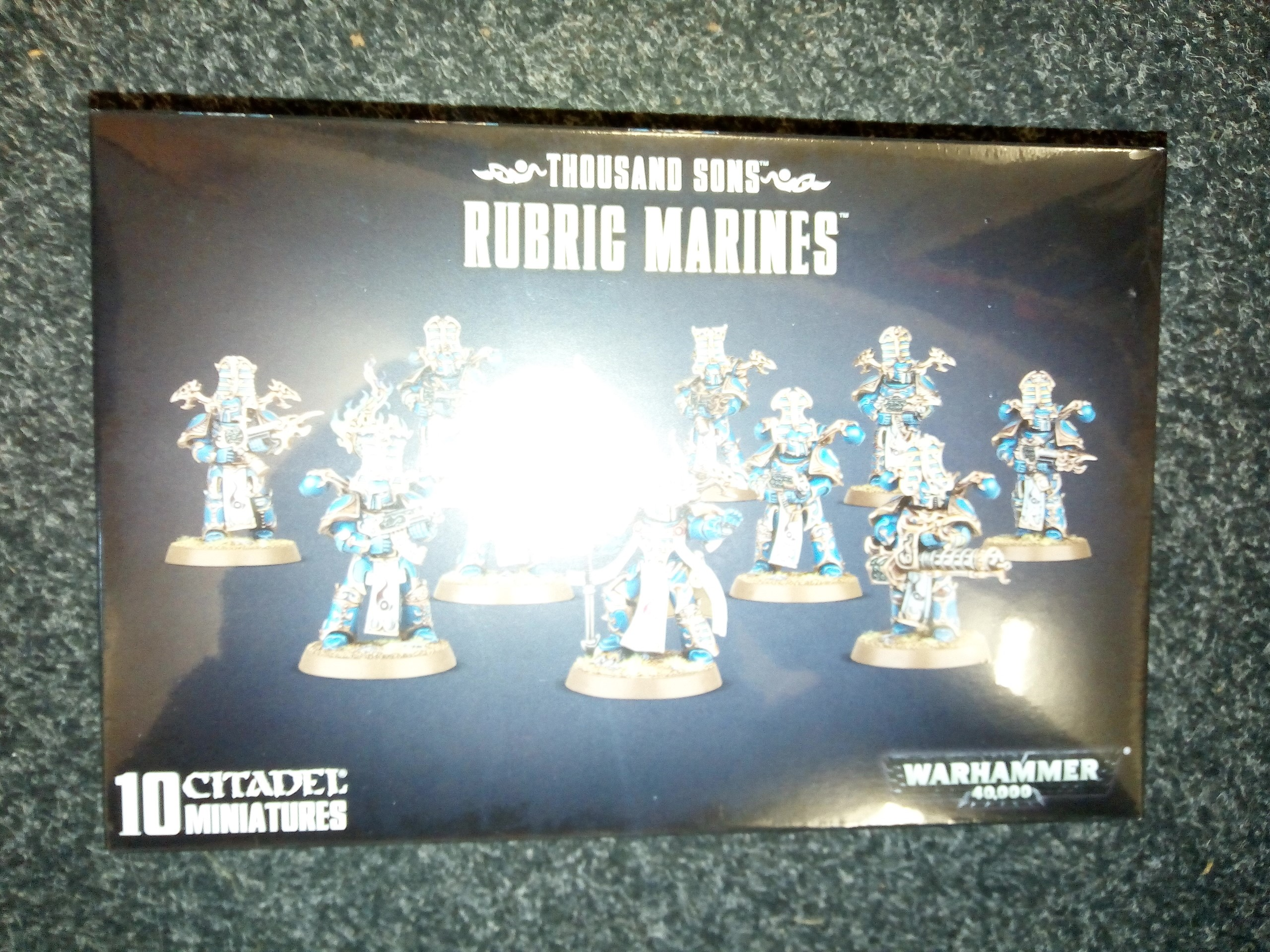 Warhammer 40K: Thousand Sons: Rubric Marines
