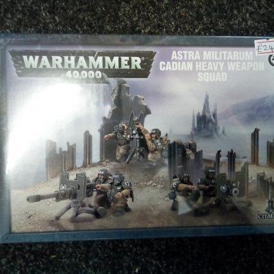 Warhammer 40K: Astra Militarum Cadian Heavy Weapon Squad