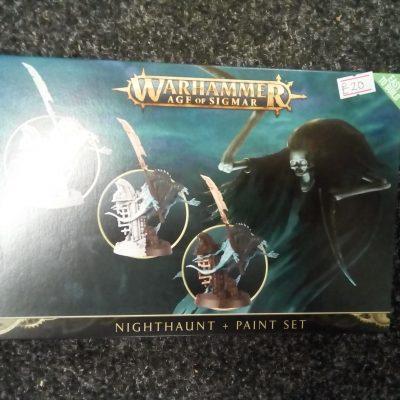 Warhammer Age of Sigmar: Nighthaunt + Paint Set