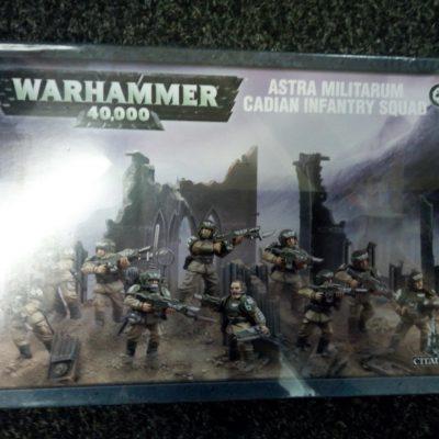 Warhammer 40K: Astra Militarum Cadian Infantry Squad