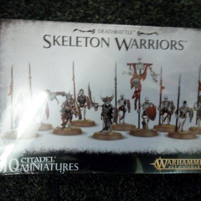 Warhammer Age of Sigmar: Deathrattle Skeleton Warriors