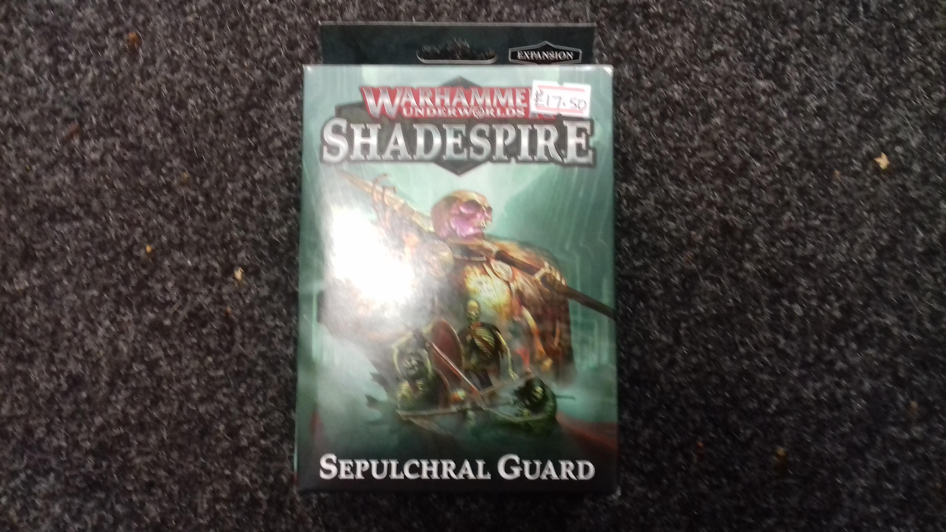 Warhammer Underworlds: Shadespire: Sepulchral Guard