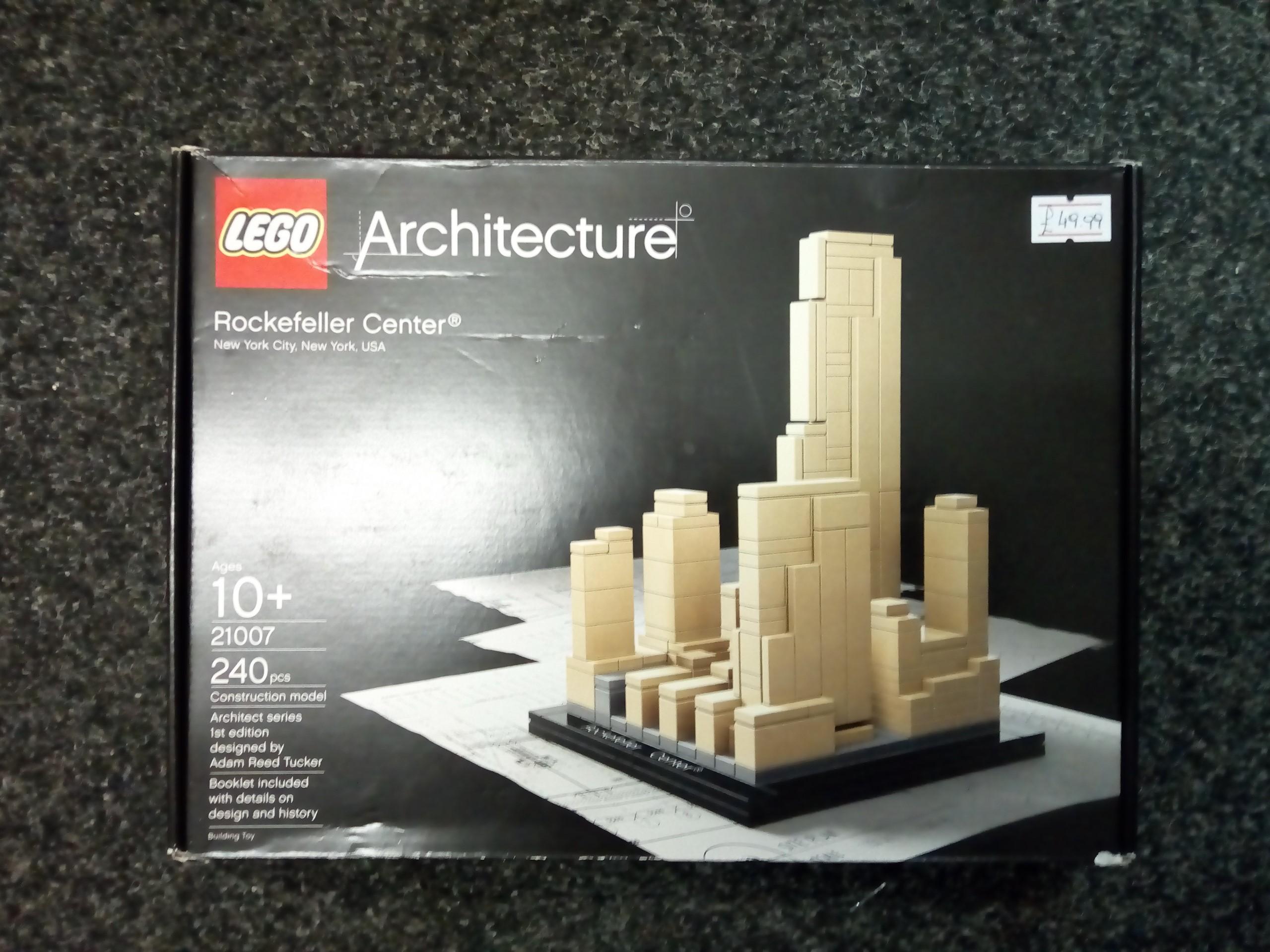 Lego 21007 Rockefeller Center