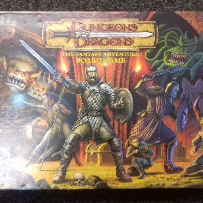 Dungeons & Dragons Fantasy Board Game