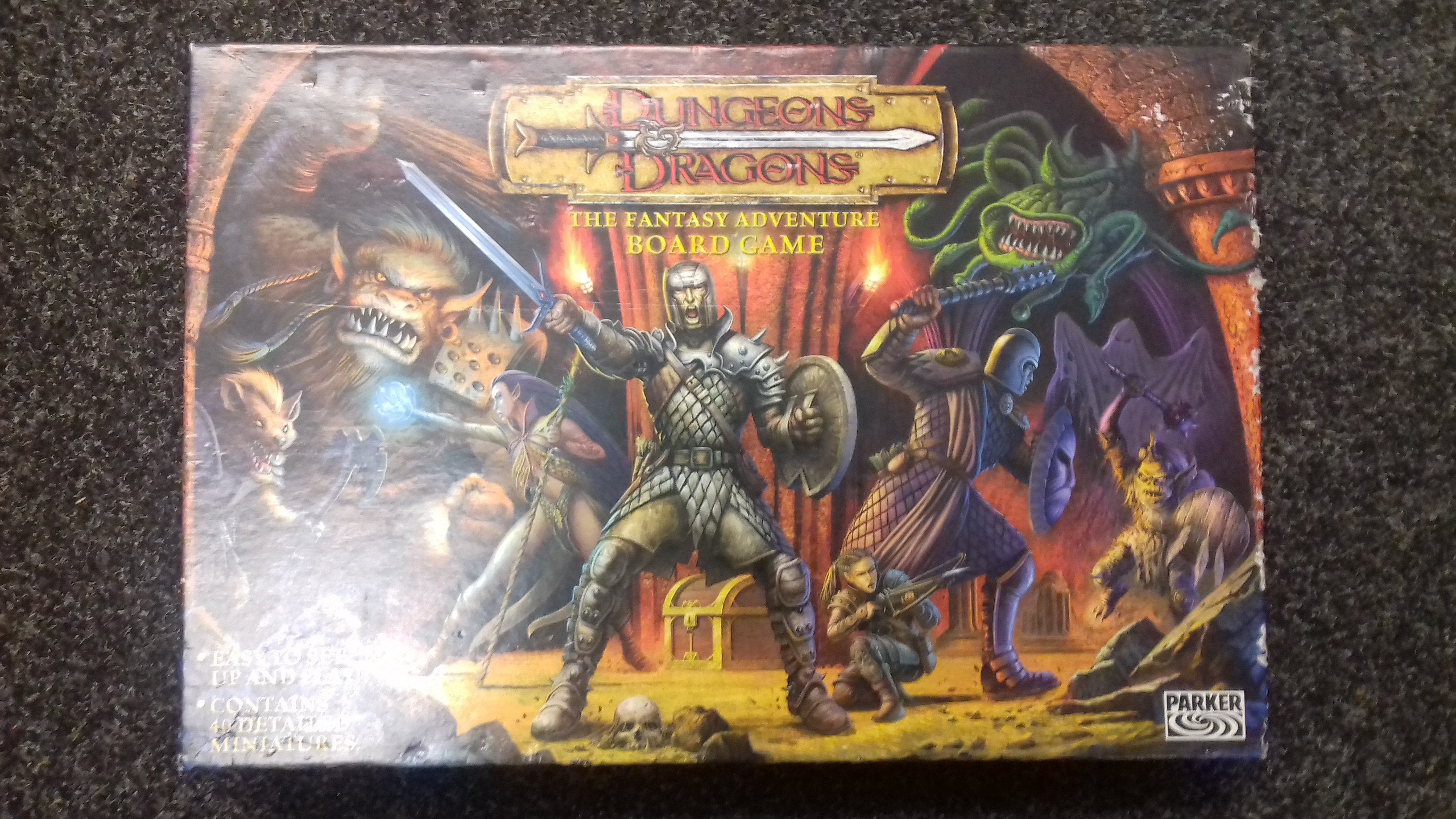 Dungeons & Dragons Fantasy Board Game